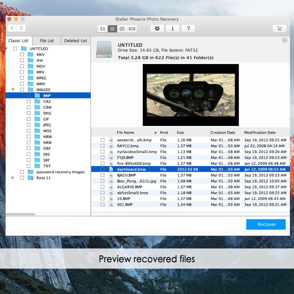 stellar phoenix photo recovery mac serial