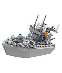 Webby Army 193 Pieces Patrol Boat Building Blocks