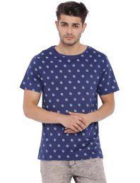 Blue Saint Blue Round T-Shirt - 619062624833