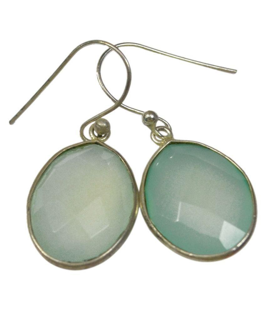 CCI 92.5 Silver Chalcedony Hangings