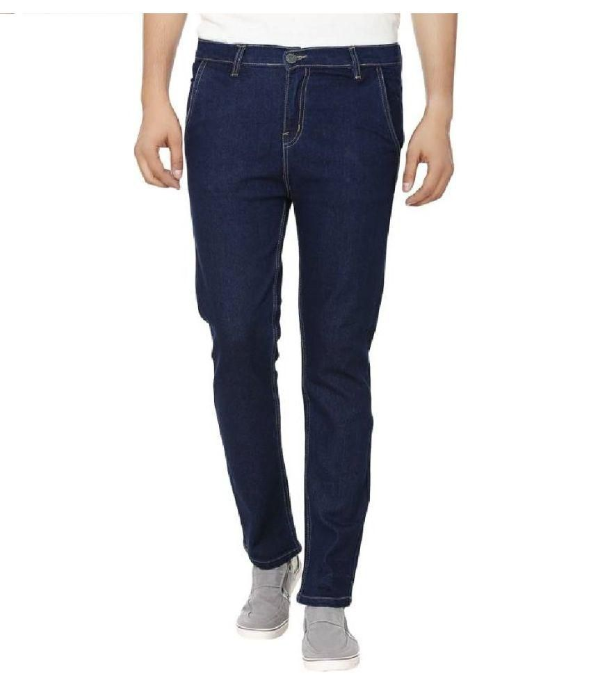 IBS Navy Blue men's Denim Jeans