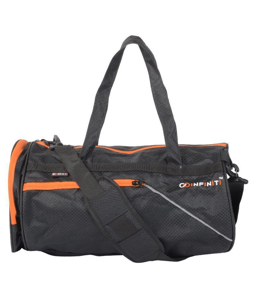 Infiniti Black Gym Bag
