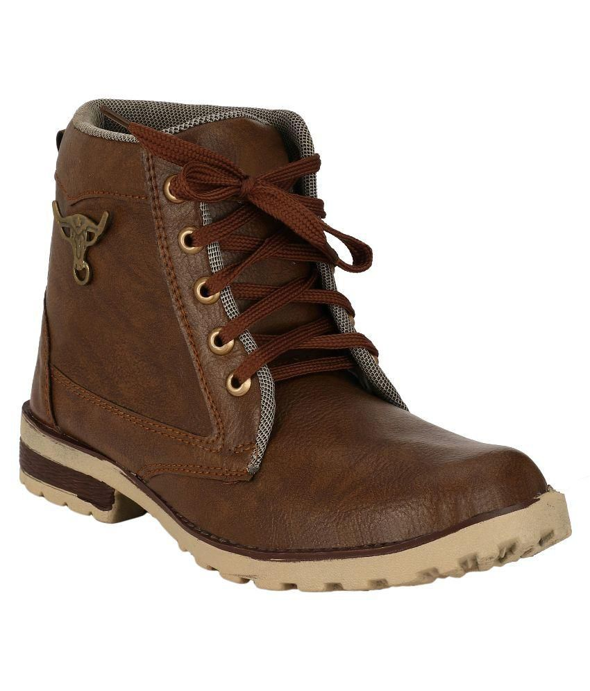 Primeshoe Brown Party Boot