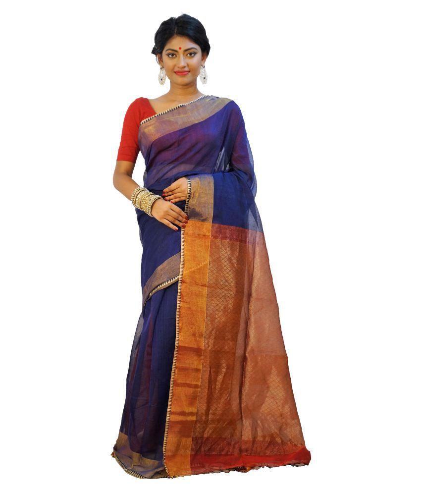 Rudrakshhh Multicoloured Chiffon Saree