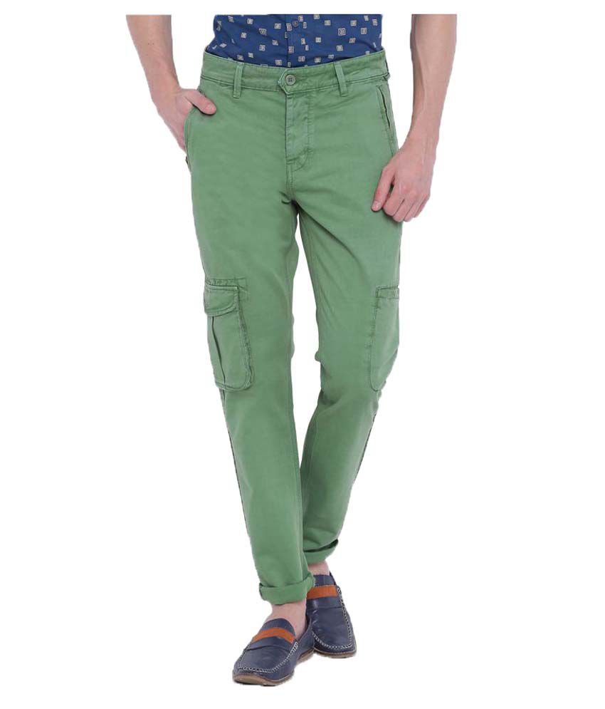 Blue Saint Green Slim Solid