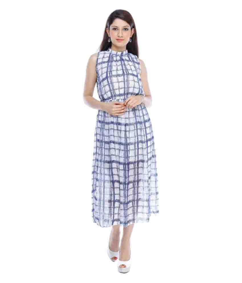 Designeez Multi Color Chiffon Dresses