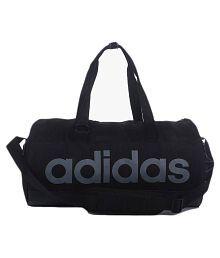 6b44141552 Adidas Black Duffle Bag SDL091159123 1 ae095