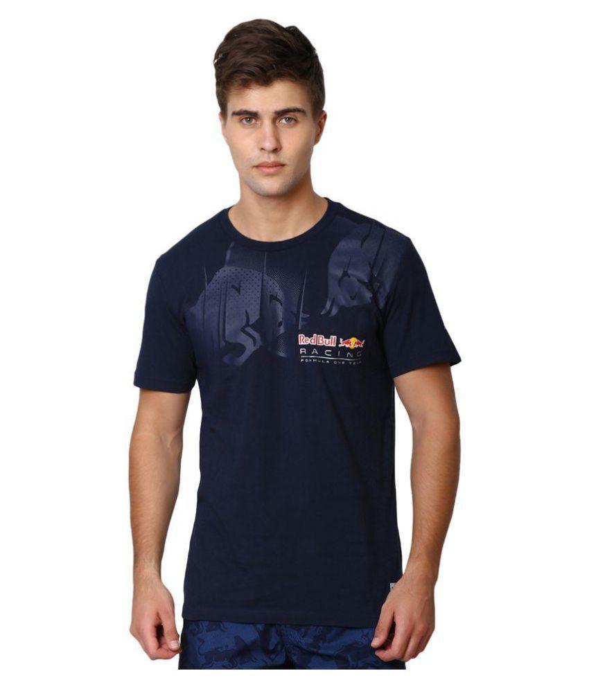 Puma Mens Navy RBR Graphic T-shirt
