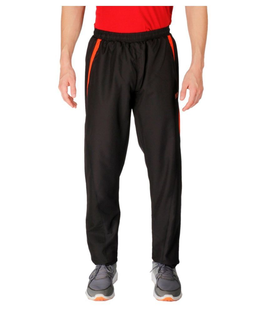 Vector X Black Polyester Track Pant