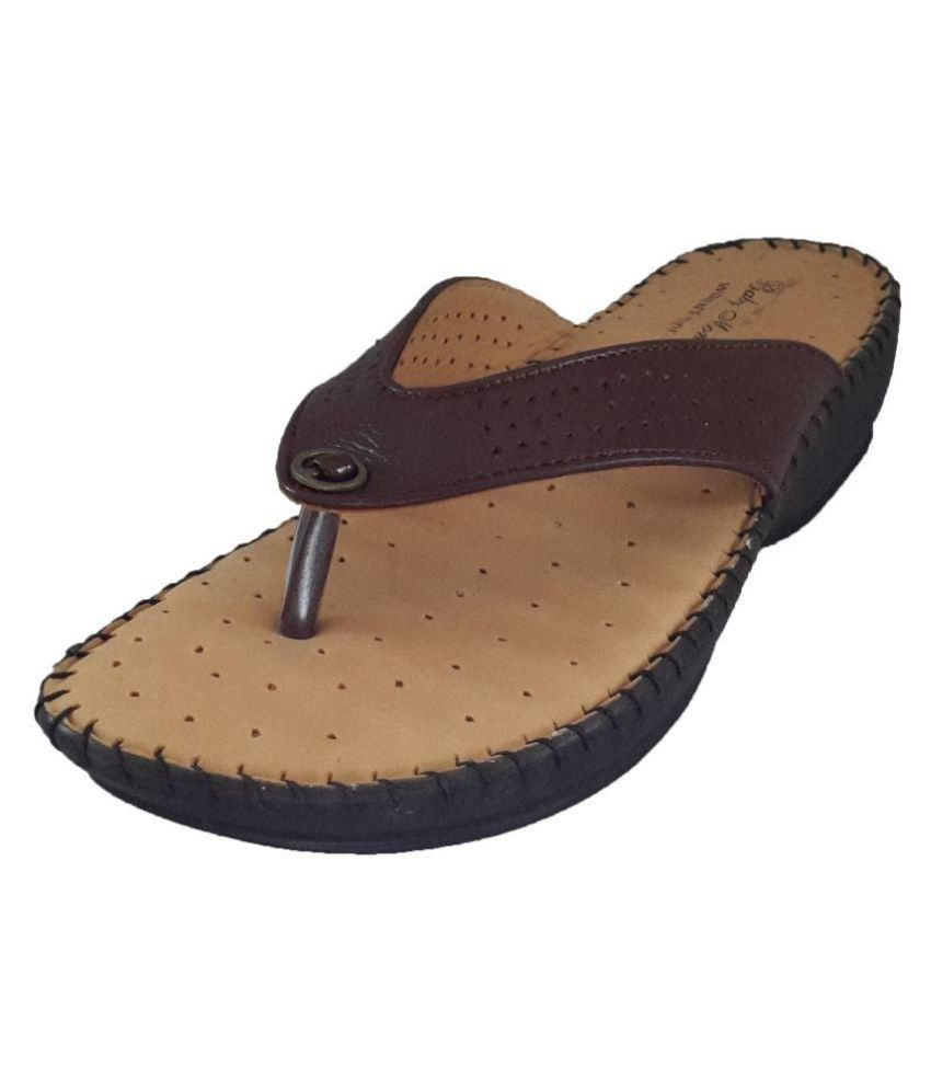 Mapp Brown Slippers
