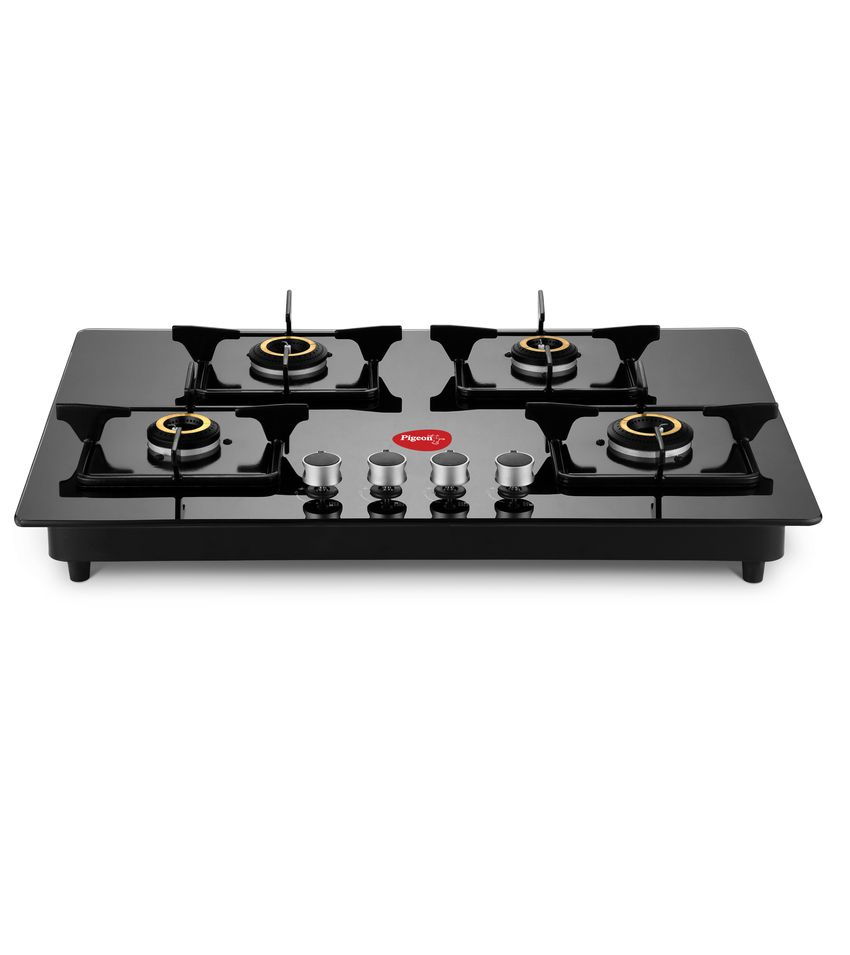 pigeon ai super efficient indian hob top 4 forged brass burner gas rh snapdeal com