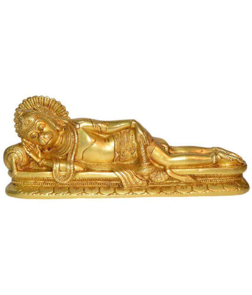 Aakrati Hanuman Brass Idol