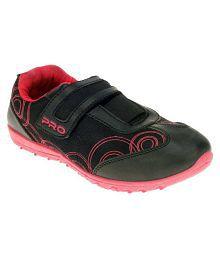 Khadim's Pro Black Running Shoes