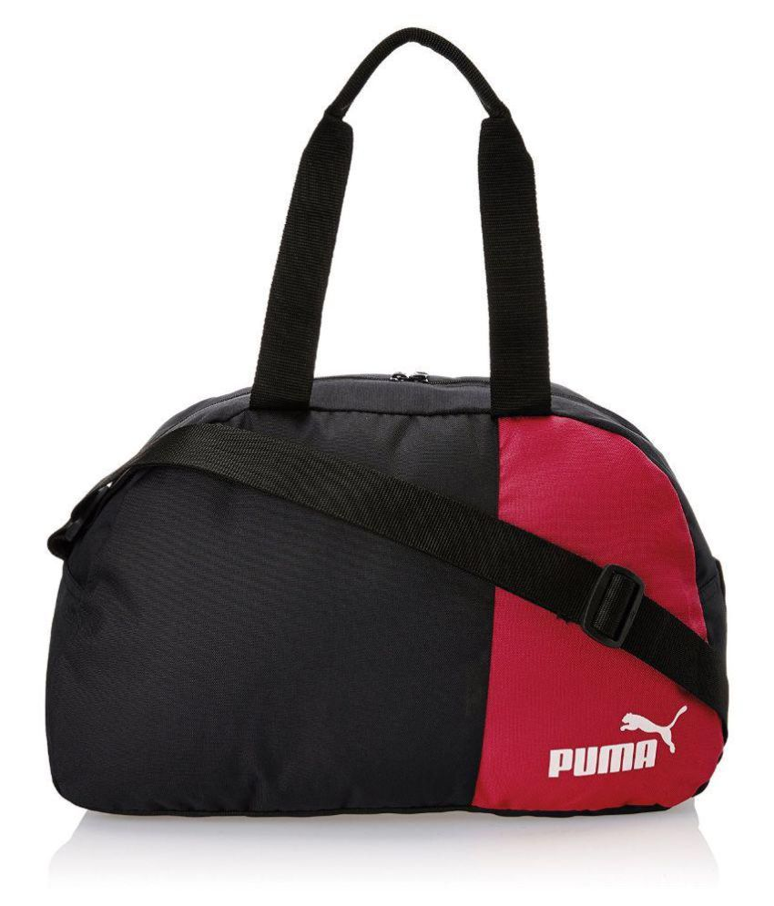 d3be7aba3af3 Puma Black and Red Polyester Messenger Bag - Buy Puma Black and Red  Polyester Messenger Bag Online at Low Price - Snapdeal