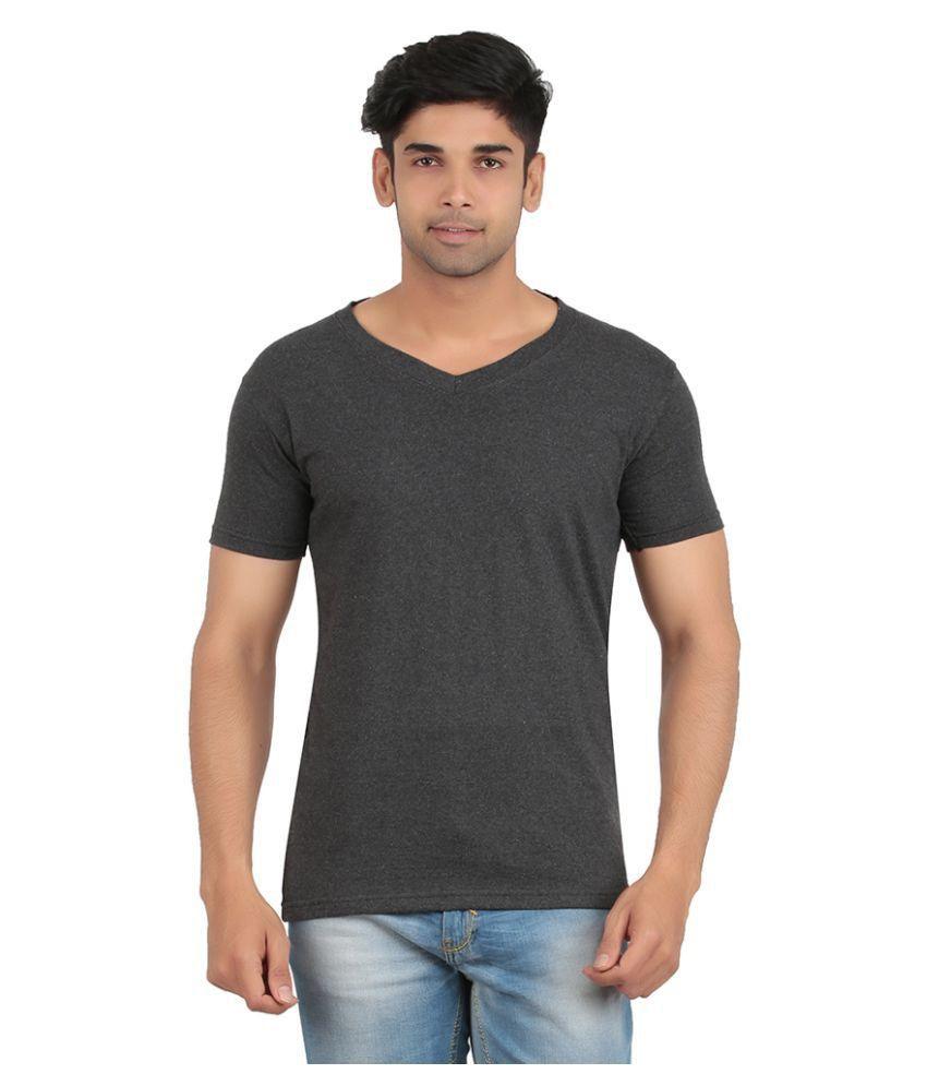 Recca Grey V-Neck T-Shirt