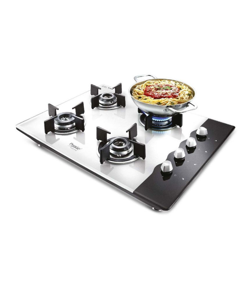 Prestige Pht 04 4 Burner Glass Auto Hob Top Price In India