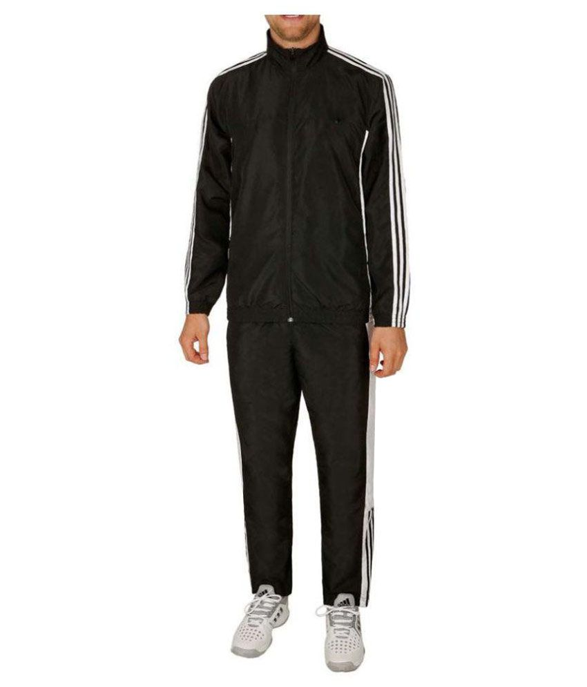 Navex Black Polyster Tracksuit