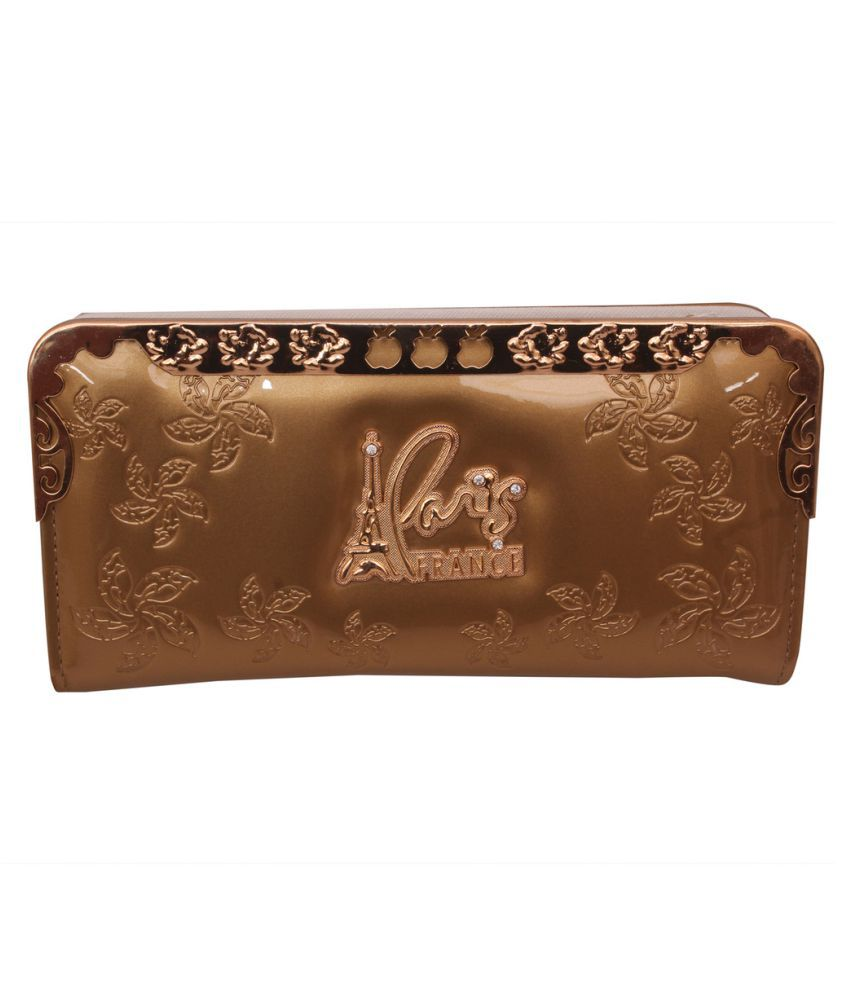The Trendy Gold Wallet