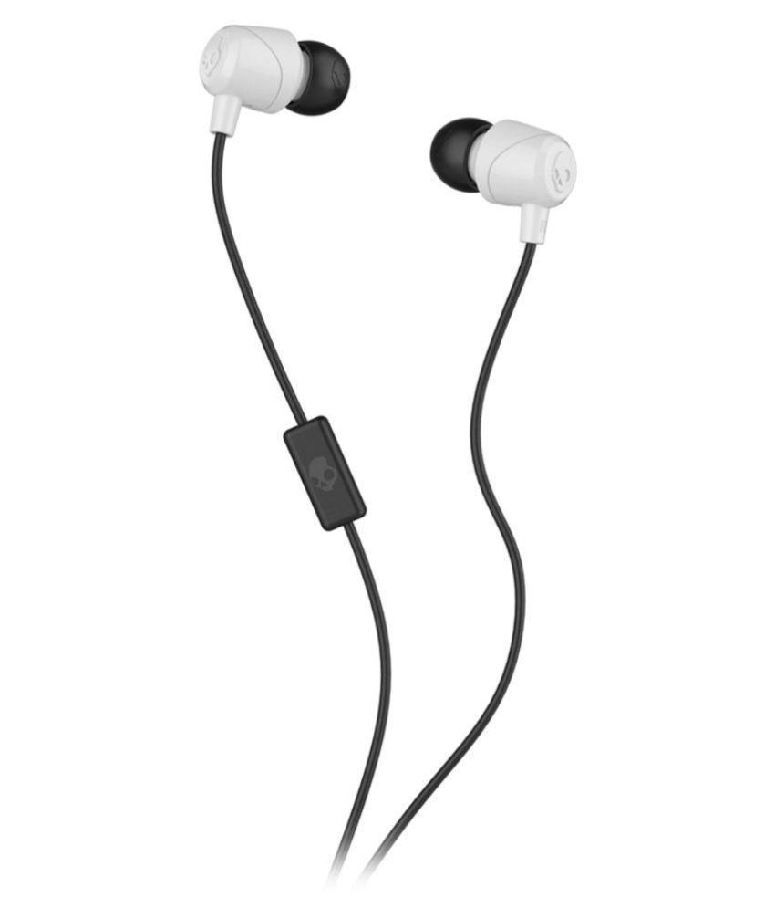 65b563348aa Skull Candy Skullcandy JIB SGDUGZ-180 White In Ear Wired Earphones With Mic  Multicolour - Buy Skull Candy Skullcandy JIB SGDUGZ-180 White In Ear Wired  ...