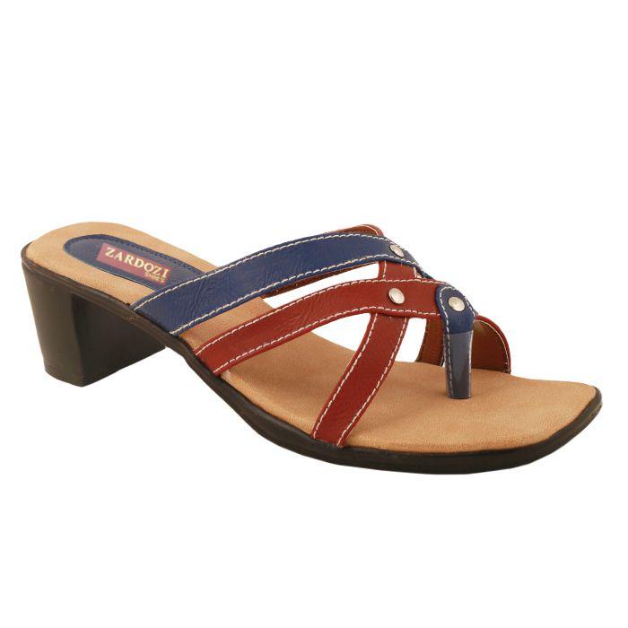 Zardozi Shoes Multi Color Block Heels