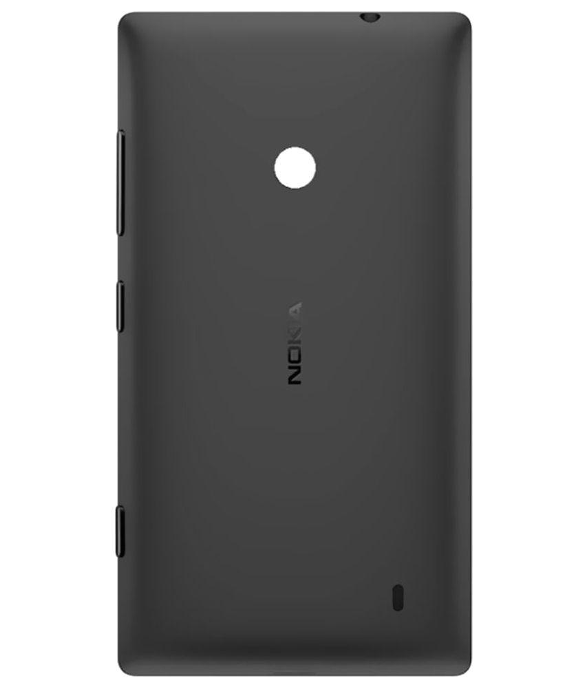 sneakers for cheap 9bfc1 612b5 Nokia Lumia 520 Original Back Panel by Shinestar - Black