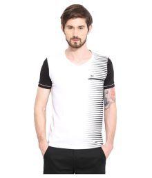 Duke White V-Neck T-Shirt - 639639374079