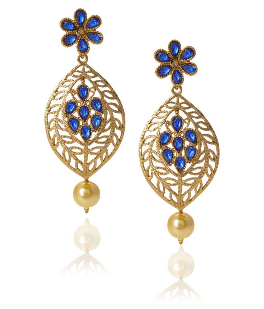 Maisha Multicolor Hanging Earrings