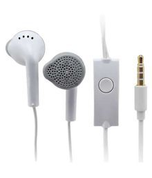 Sarthak Music  Candy Editions Sk-514 In Ear Wired Earphones With Mic White