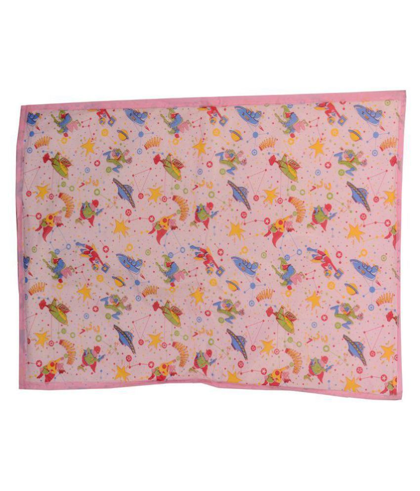 Aarushi Large Baby Pink Spongy Plastic Chaining Mat