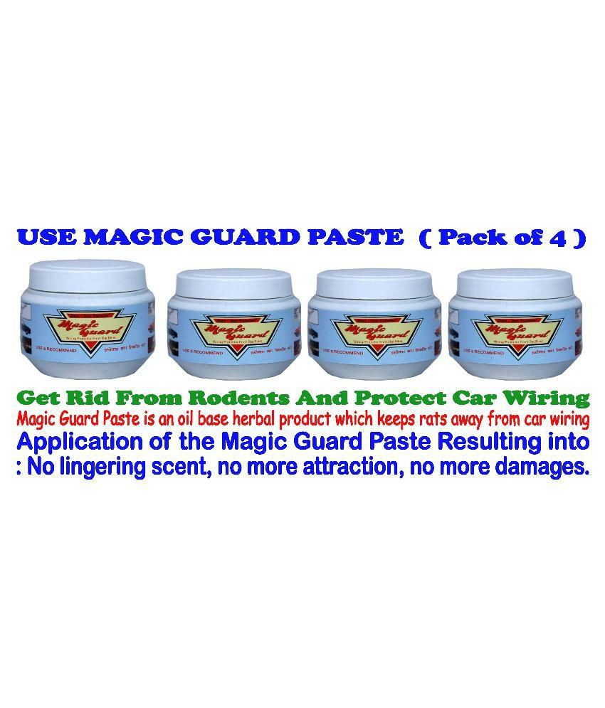 Magic Guard Car & Motorbike Wiring Rat Repellent Magic Guard Gel ( Pack of  4 )