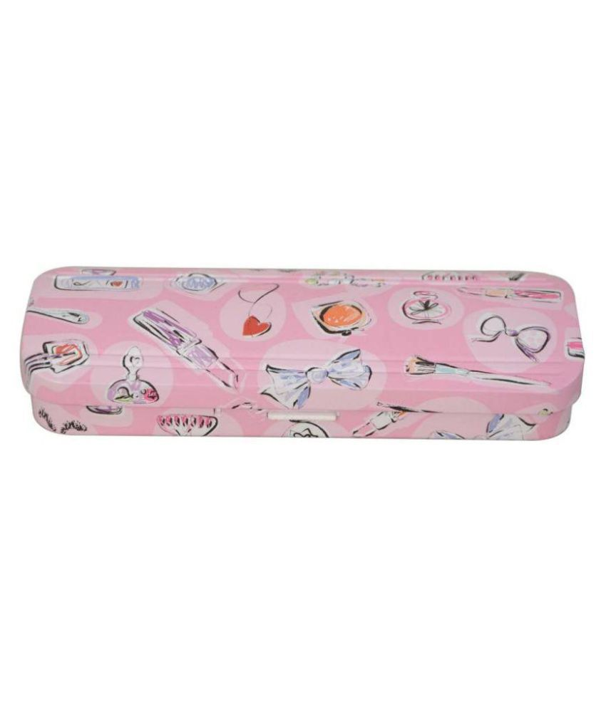 Hm International Cartoon Art Metal Pencil Box School Supplies