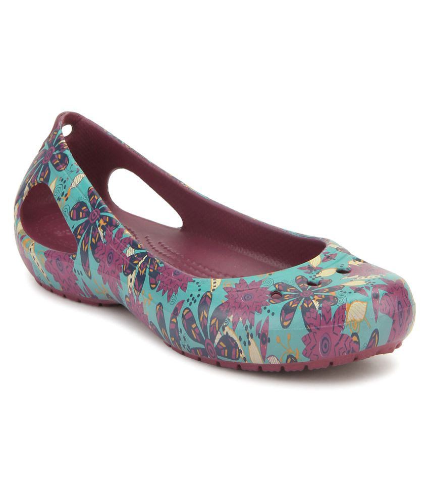 ad819859c Crocs Multi Color Ballerinas Relaxed Fit Price in India- Buy Crocs Multi  Color Ballerinas Relaxed Fit Online at Snapdeal