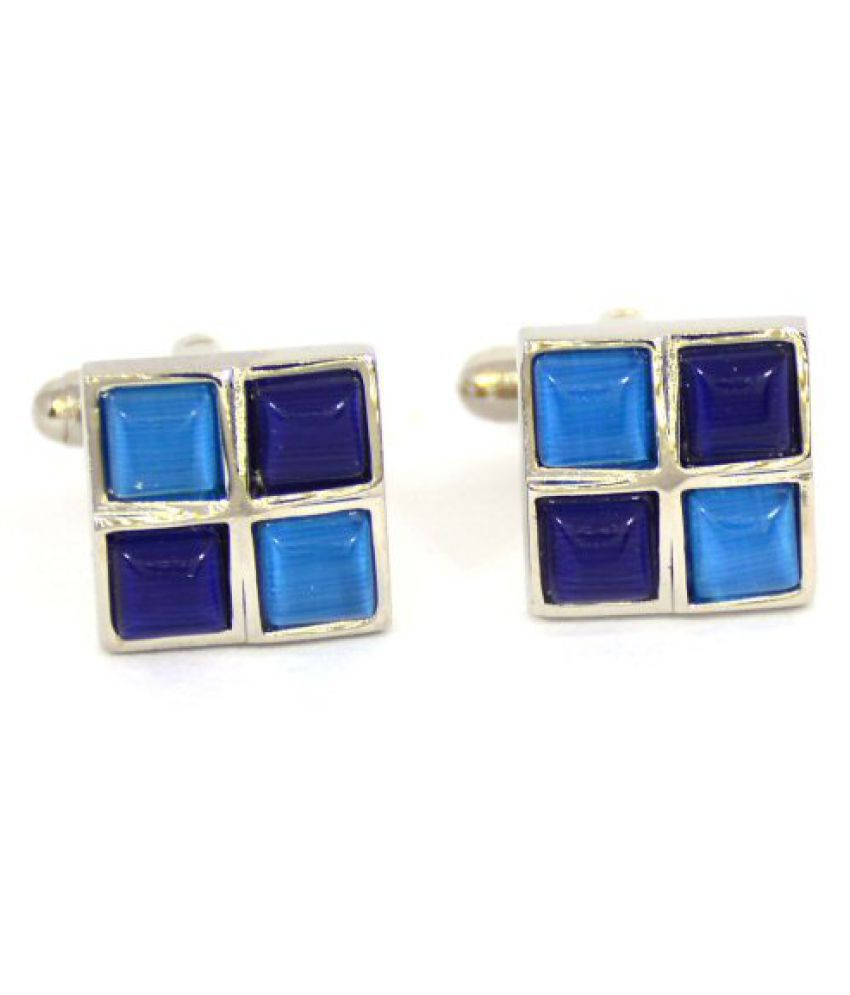 Ferabbo Multicolour Cufflinks for Men