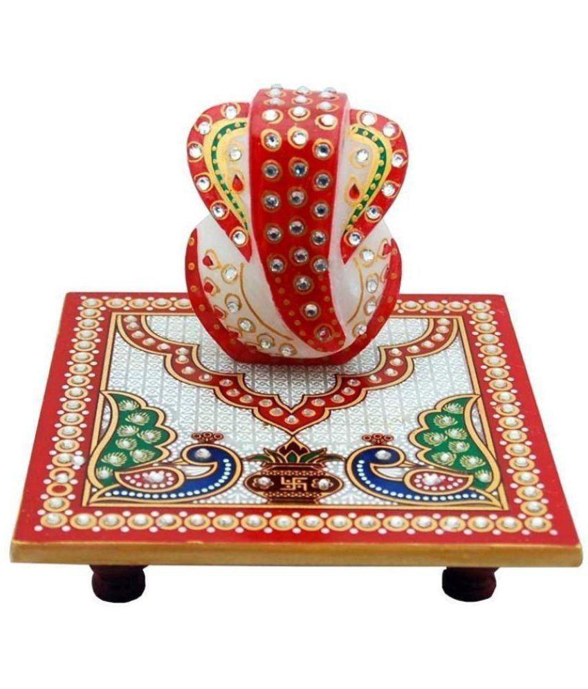 Lavista Ganesha Marble Idol