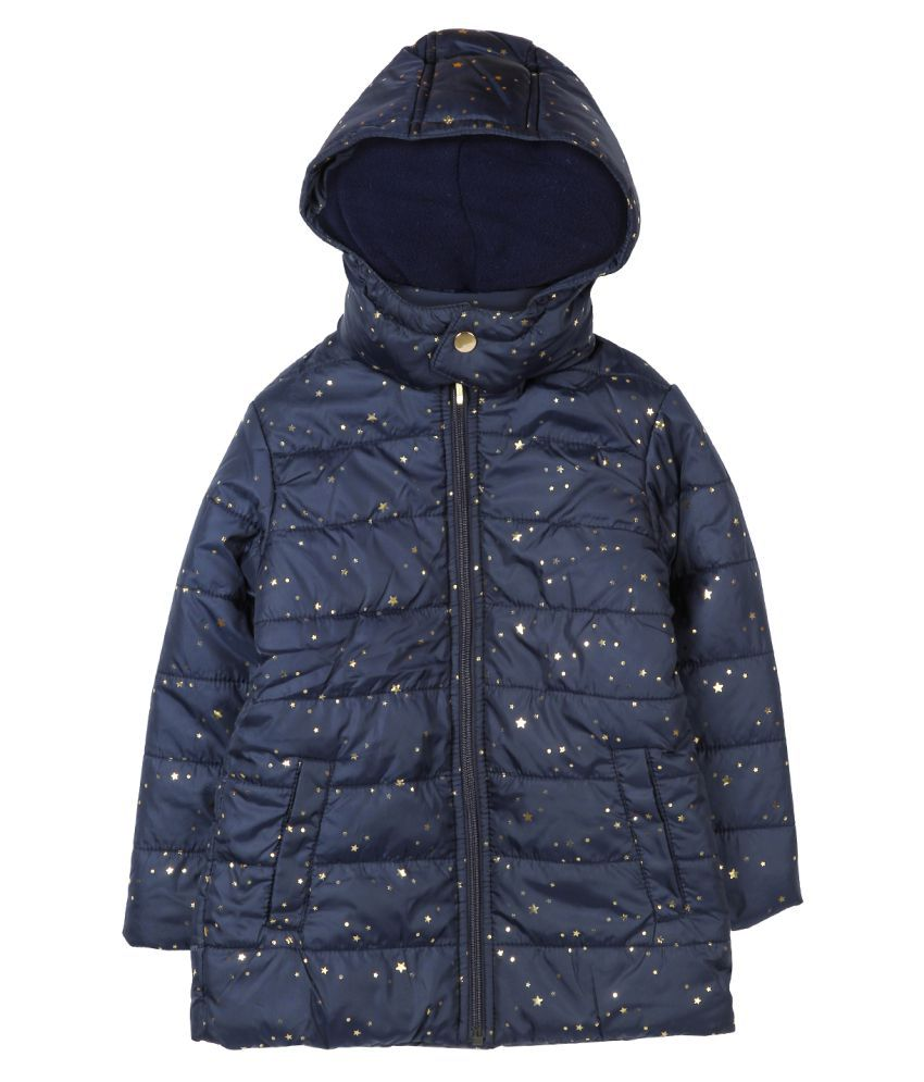 Beebay Navy Polyester Jacket