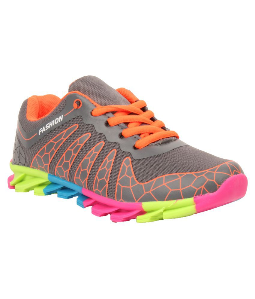 Foot Candy Gray Running Shoes