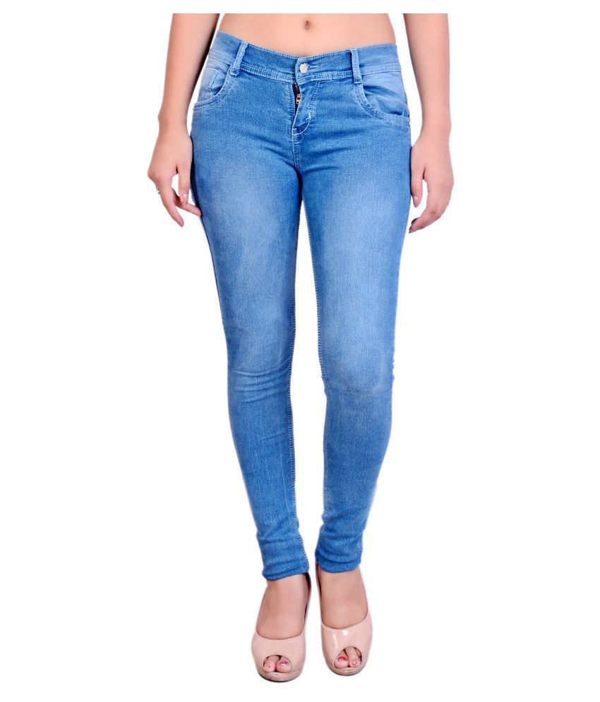 Blinkin-Blue-Denim-Lycra-Jeans