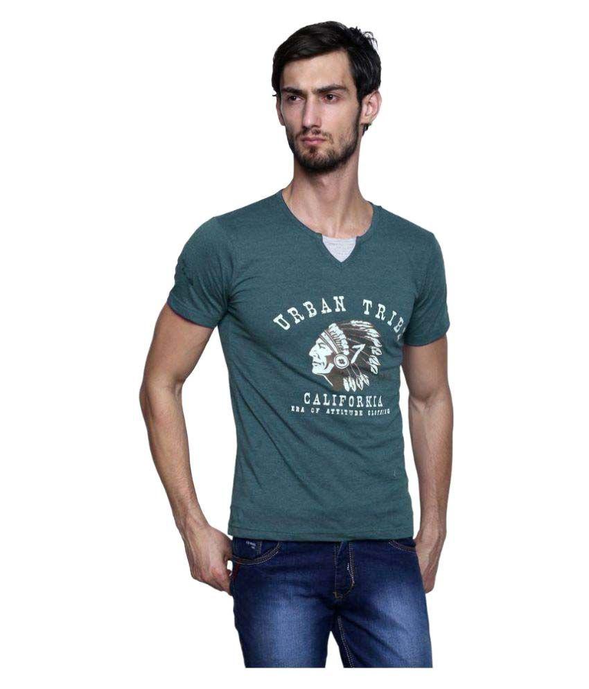 Era of Attitude Green Round T-Shirt