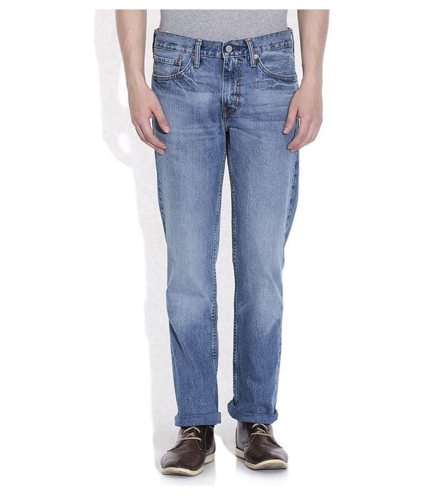 Levis Blue Slim Faded