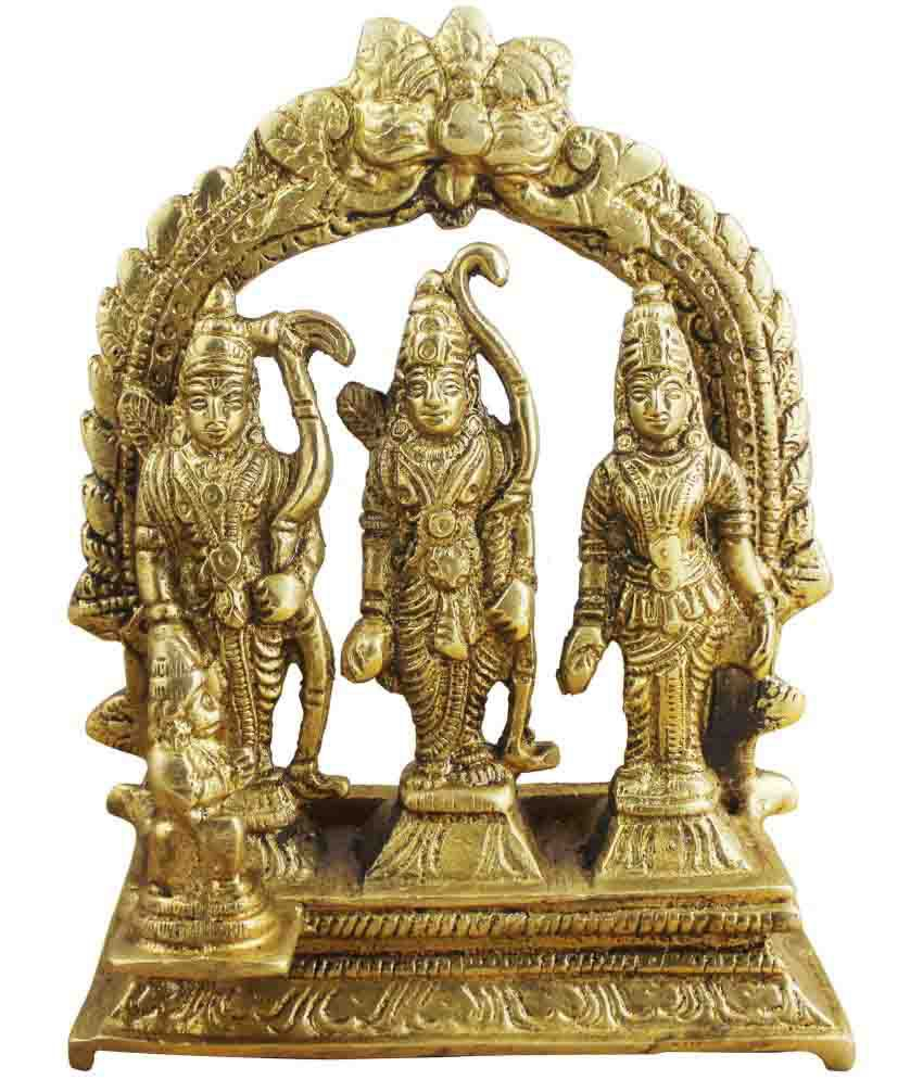 RoyaltyLane Ram Brass Idol