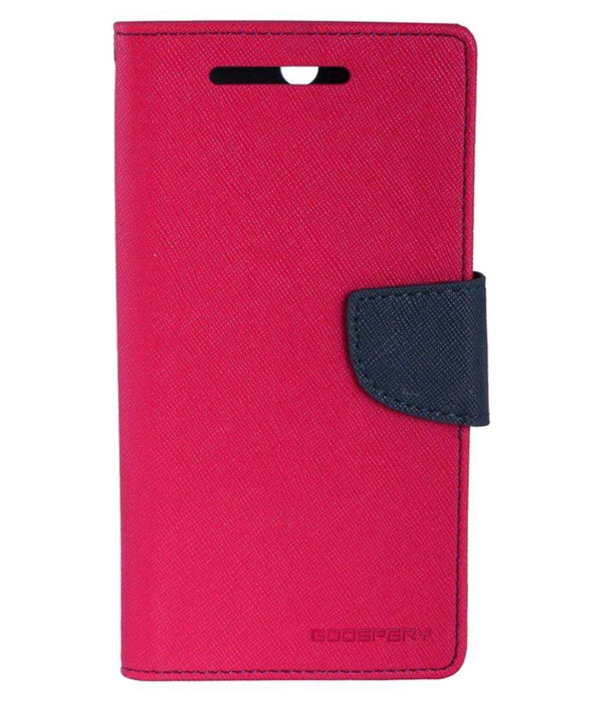 Samsung Galaxy S4 I9500 Flip Cover by Gadget Decor - Pink