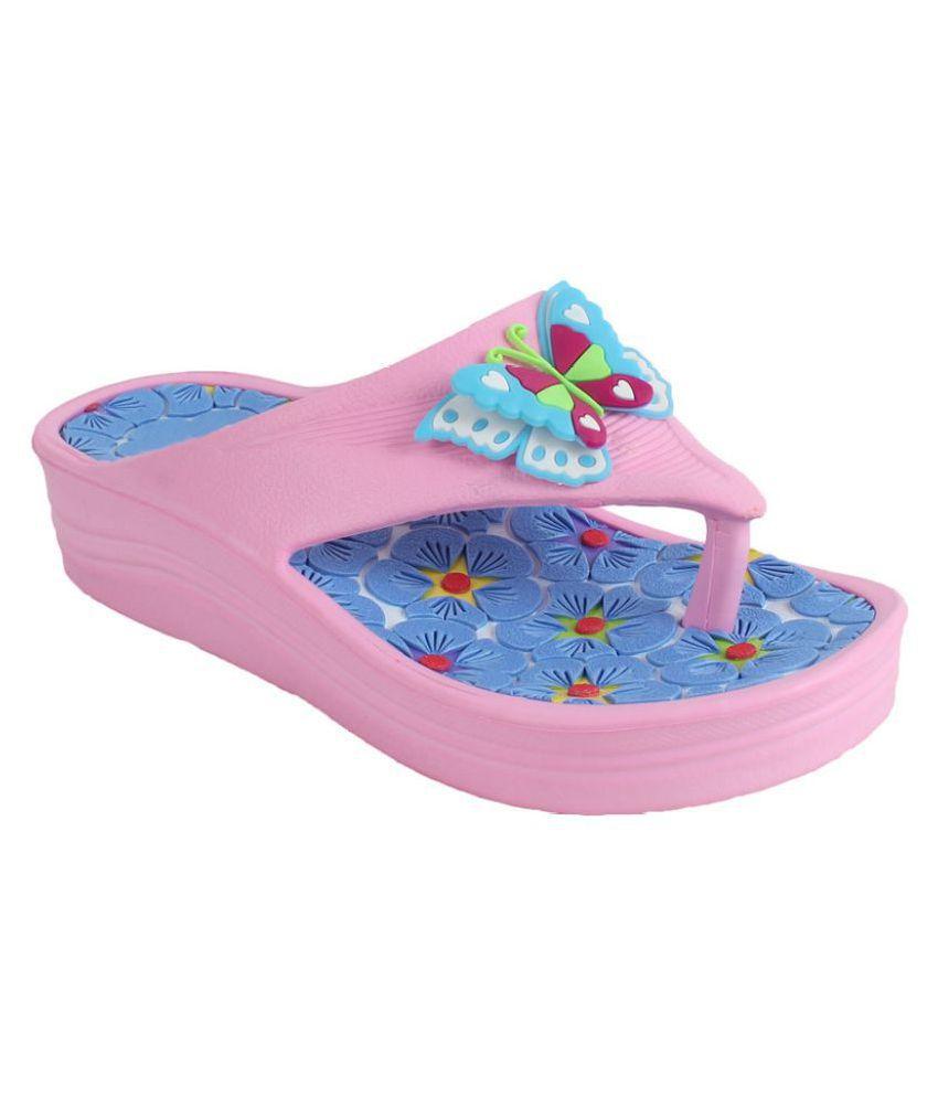 Foot Frick Pink Flats