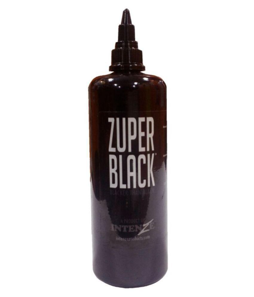 Tattoo Zuper Black Ink - 12oz