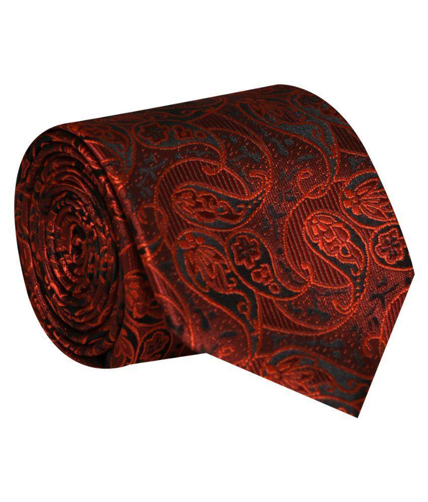 Posto Neckties Brown Party Necktie