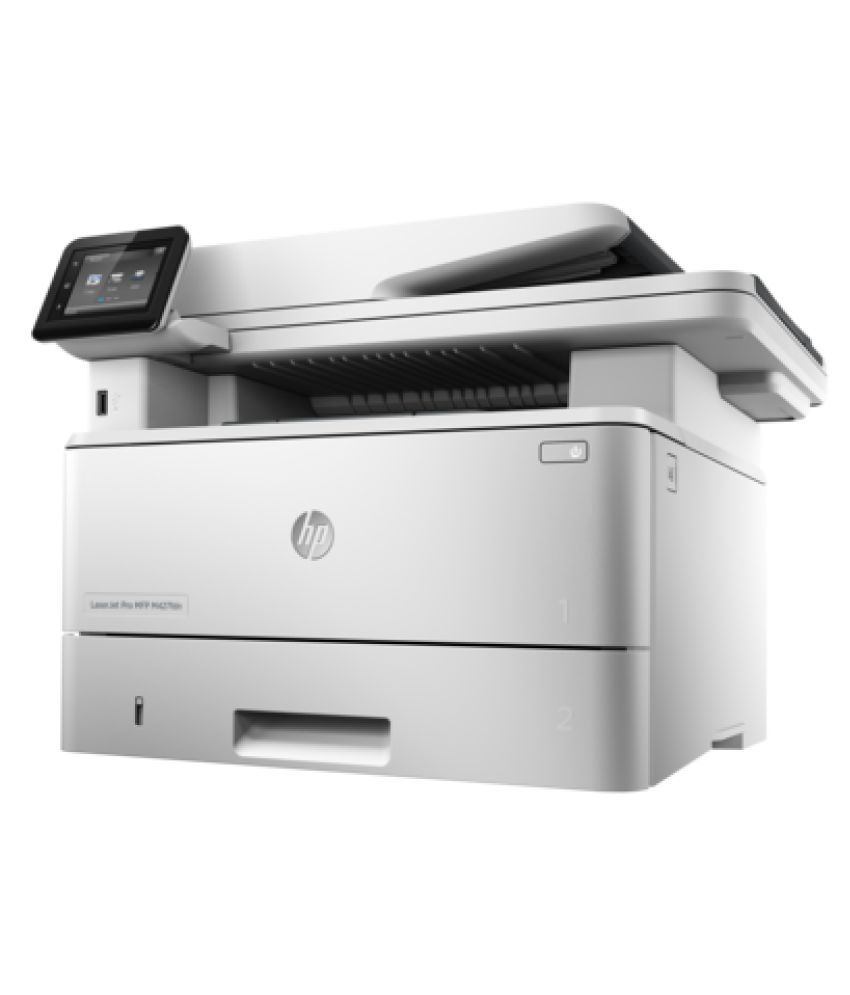Laserjet pro m402n have to press ok to print