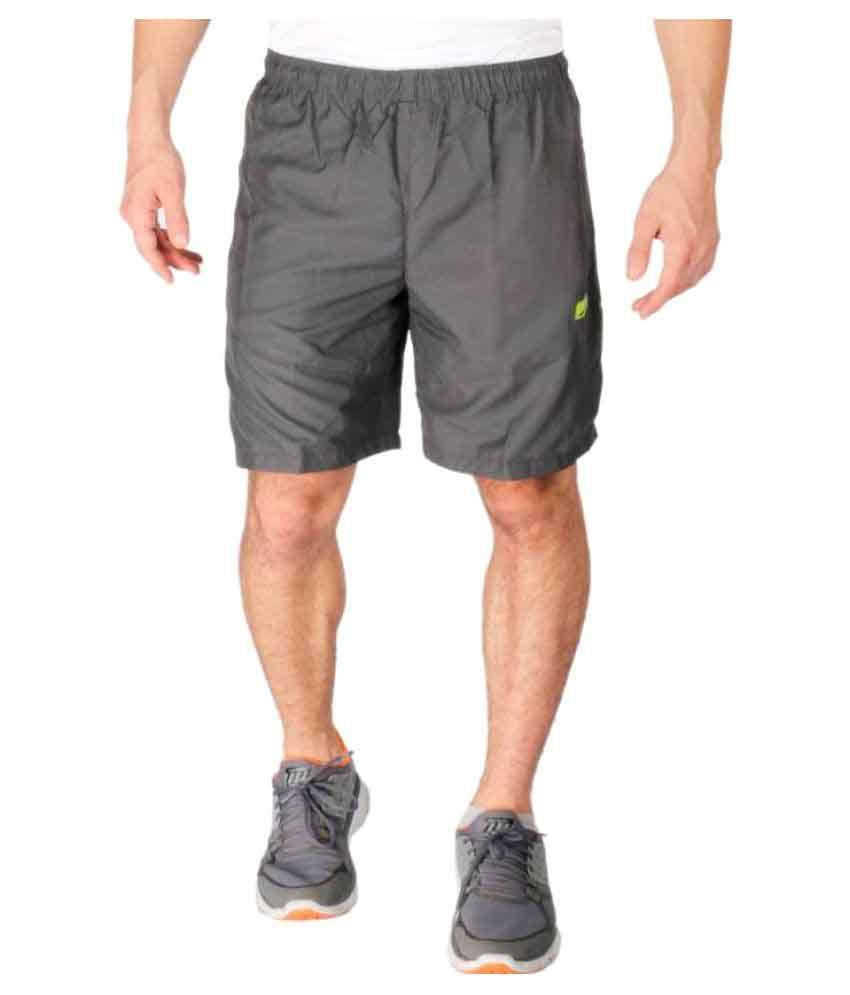 Vector X Grey Sports Shorts