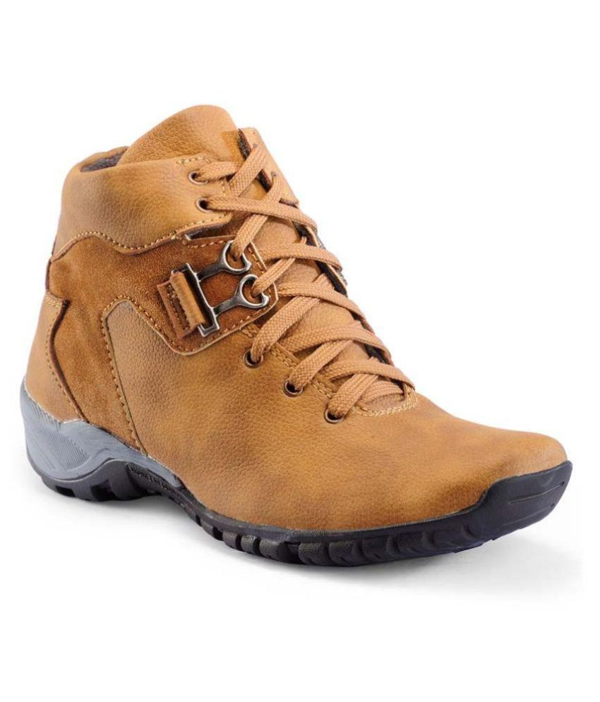 Rock Passion Beige Casual Boot