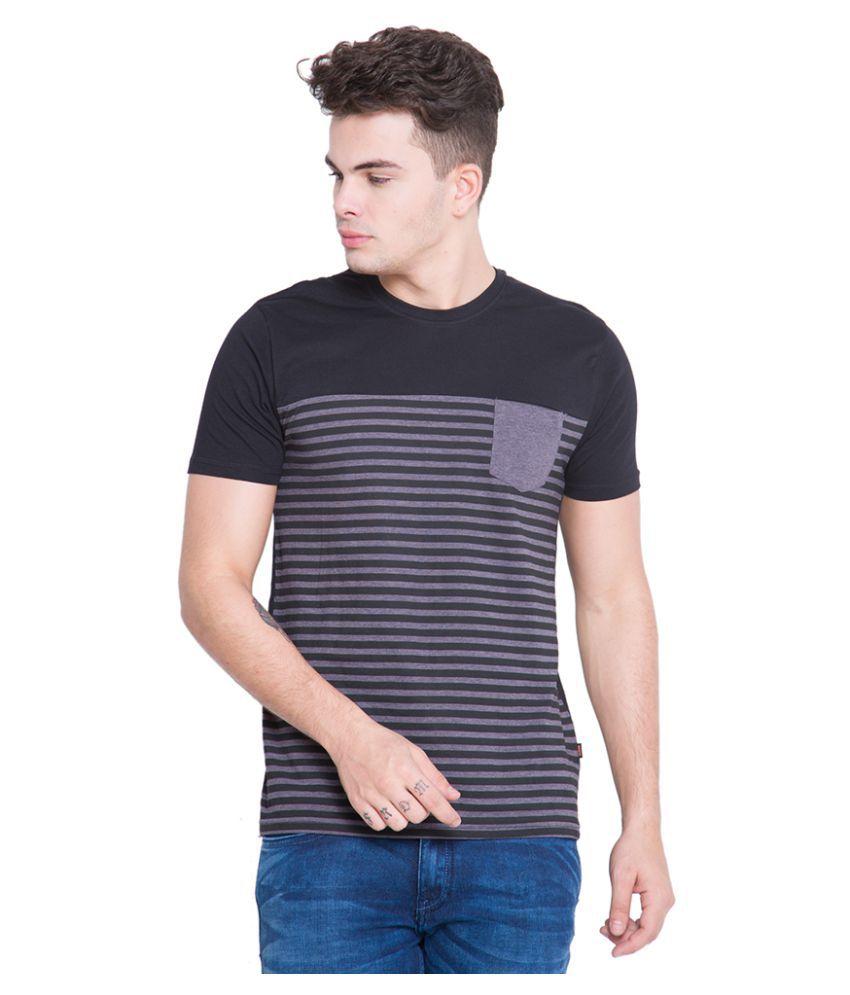 Highlander Black Round T-Shirt