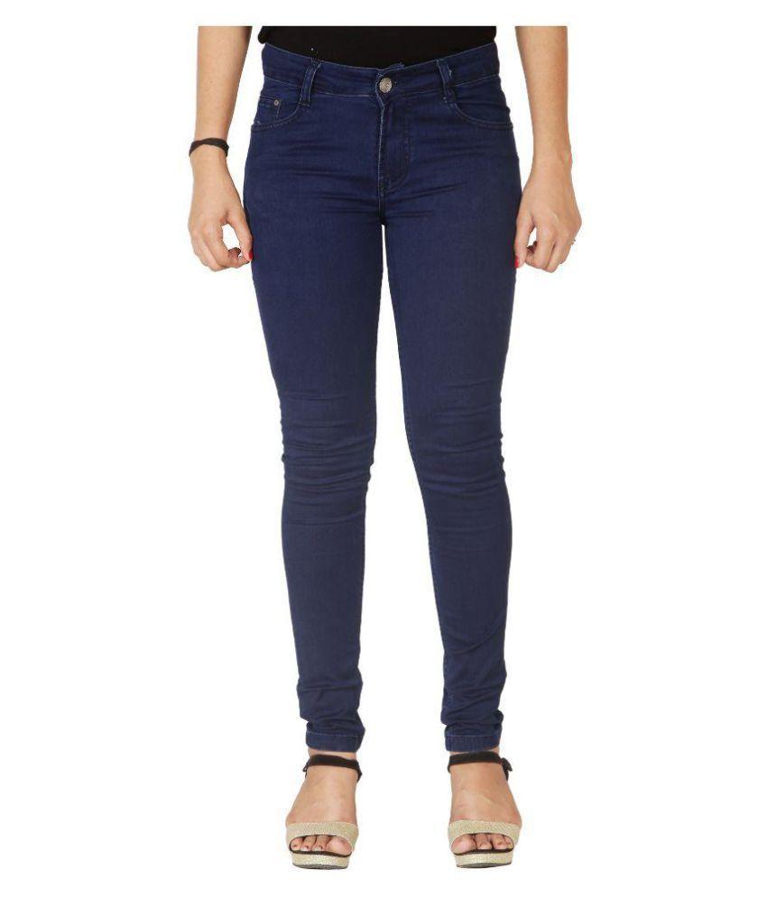 Flirt Nx Denim Lycra Jeans - Blue