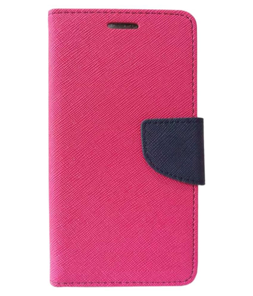 Lenovo Vibe K4 Note Flip Cover by Doyen Creations - Pink